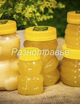 "Мед ""Донник Алтайский"" 130г/ Мишка пластик"