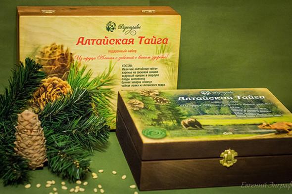 Подарочный набор «Алтайская тайга»